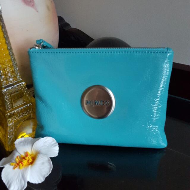 Mimco Turquoise Medium pouch