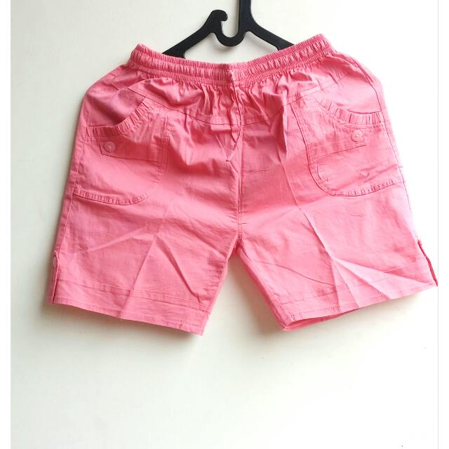 Mini Pink Short Pants