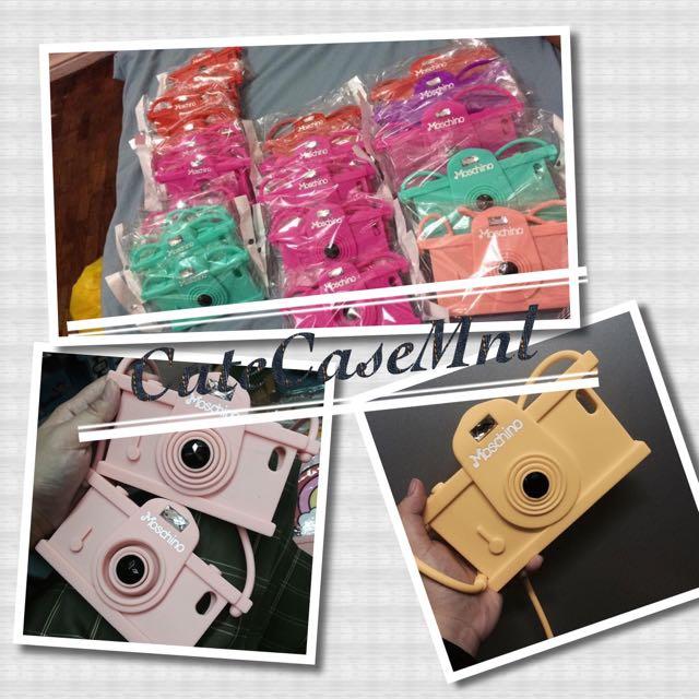 Moschino Camera Case