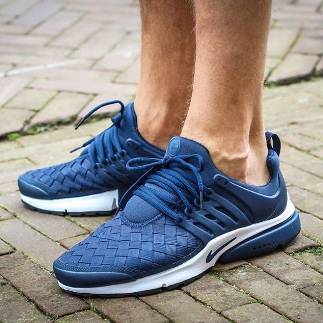 best service 86814 09943 Nike Air Presto SE Woven Navy, Mens Fashion, Mens Footwear on Carousell