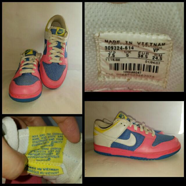 SUPER SALE!! Nike Dunk Low size 38.5 / Us 7.5