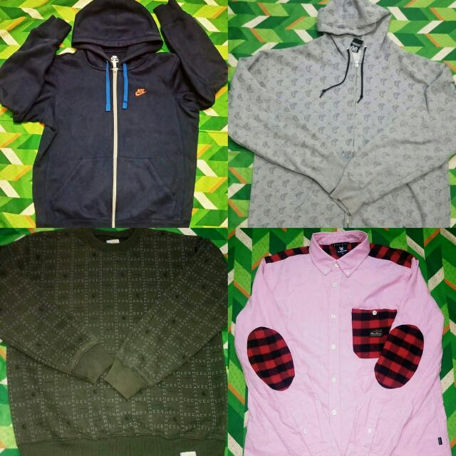 Nike Hoodie, Famous Hoodie, Carhartt Pullover Sweater And Fingercroxx Flannel