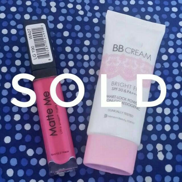 Nyx Lipstick Matte Dan Pixy Bb Cream