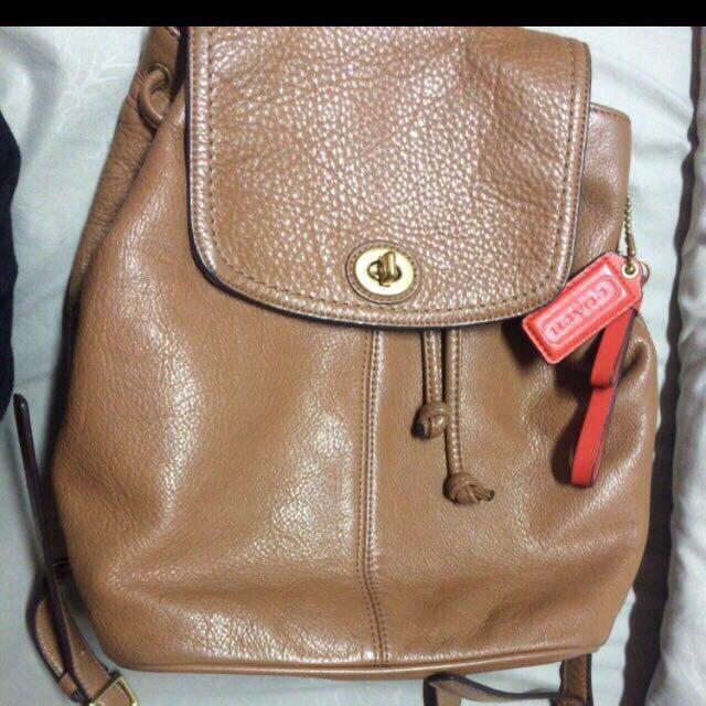 ef12830a6698 💯original Coach Bag Pack Reduced Price