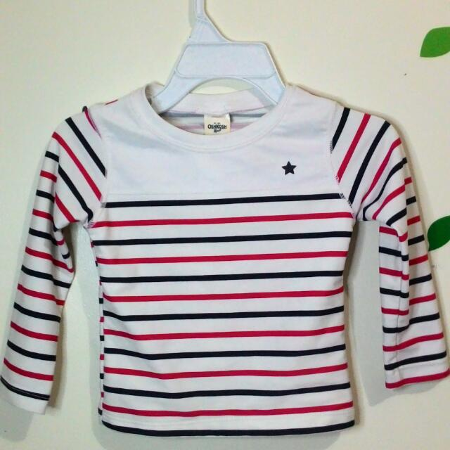 Osh Kosh Bgosh Long Sleeves Top