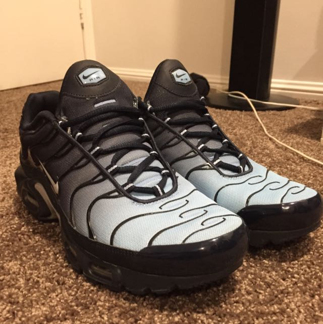 Powder Blue TNs US 9.5, Sports, Athletic Clothing on Carousell