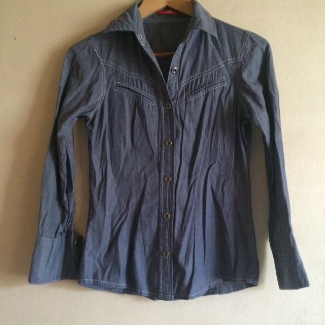 SALE PS Chambray Blouse