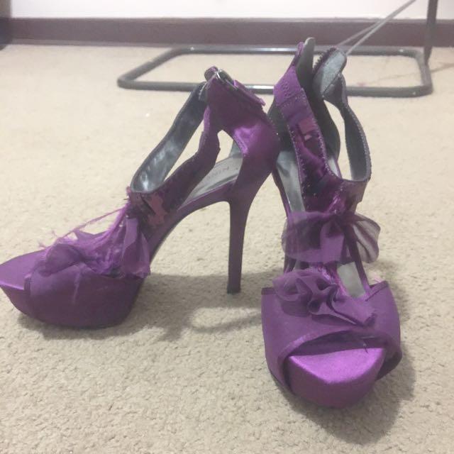 Purple Stillettos