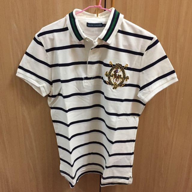全新Ralph Lauren條紋polo衫