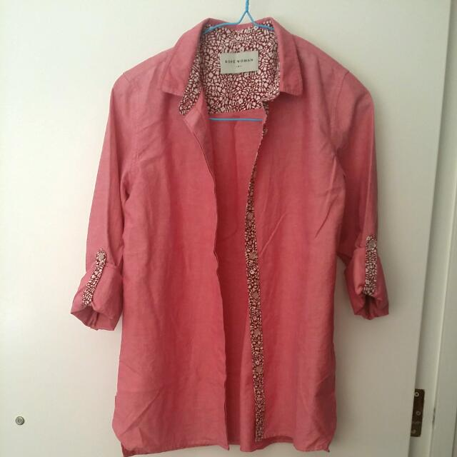 Rope Woman Size S (Size 6) Blouse