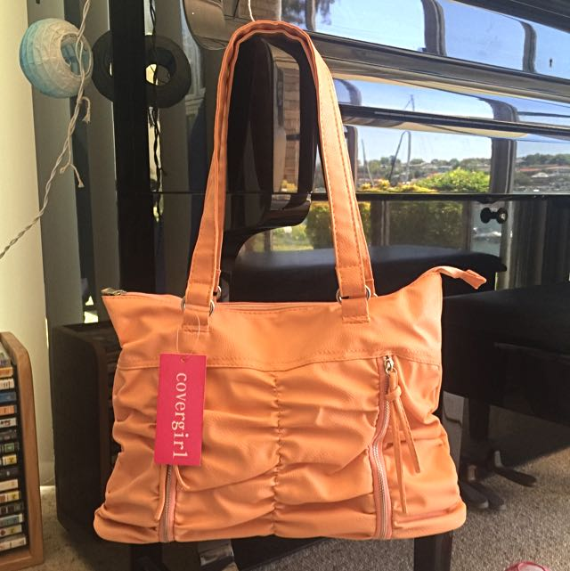 Peach Handbag By Cover girl