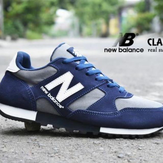 Sepatu Pria New Balance Classic Grade Ori   sport casual kets jogging (NB-A) 9a2721cea4
