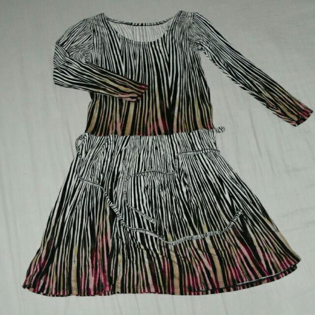 Soft Stretchable Printed Dress