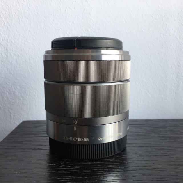 Sony SEL1855 F/3.5-5.6 OSS