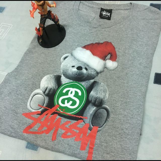 Stussy 聖誕T