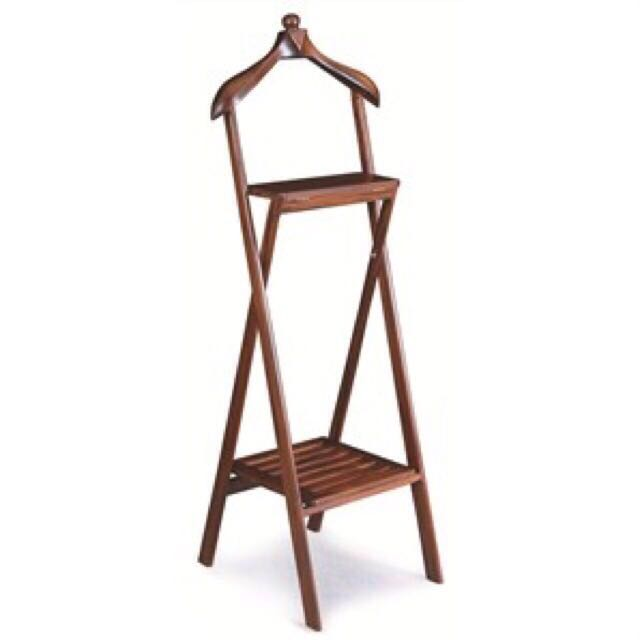 Superieur Teak Valet Stand With 2 Drawer Teak Furniture Singapore Low Price  Warehouse, Furniture On Carousell