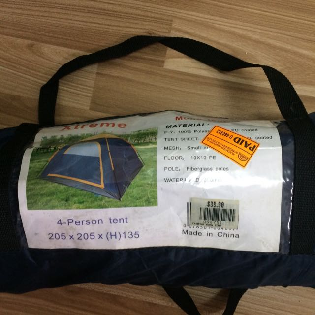 Tent For 4 Person