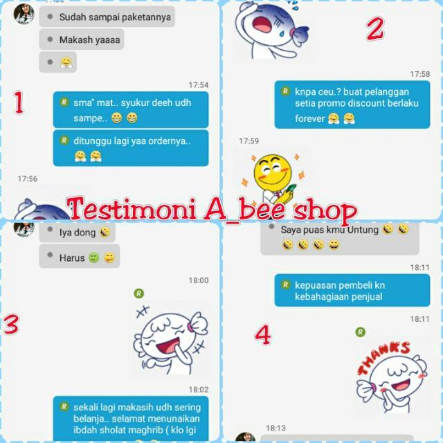 Testimoni A_bee shop