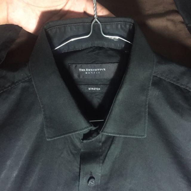 The Executive Black Shirt Longsleeve