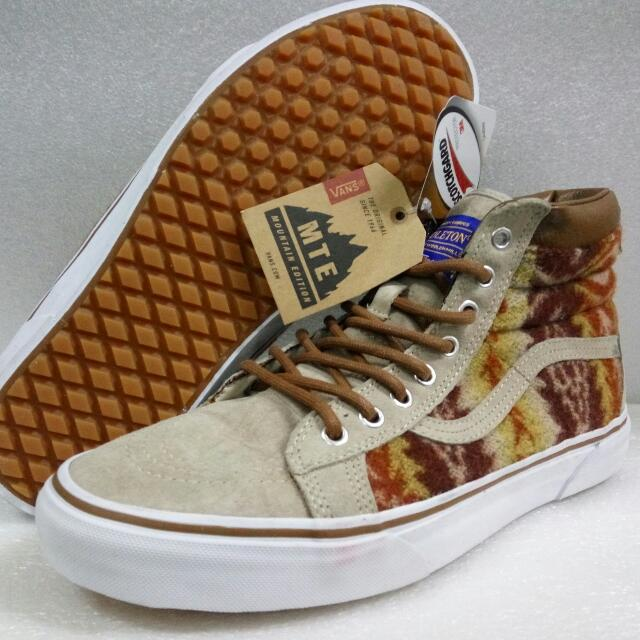 6e91a2f9f0 Vans Off The Wall OG SK8-HI MTE (Mountain Edition ) Pendleton Edition.