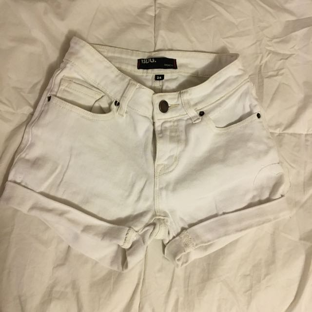 White Shorts From Urban Outfitters