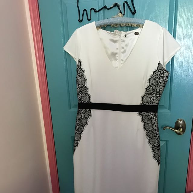 White Slimming Dress
