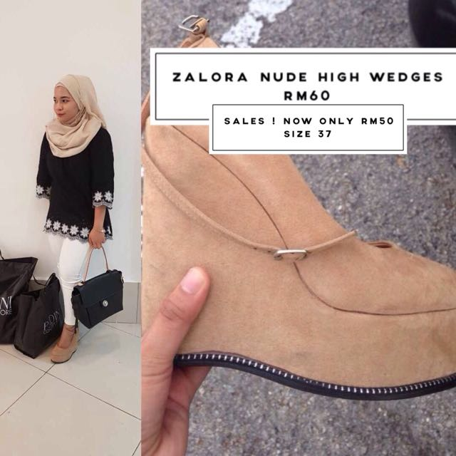 Zalora High Wedges