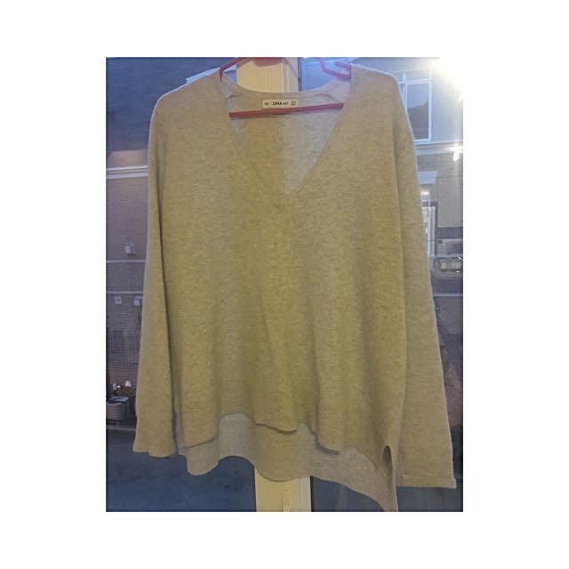 Zara 100% Cashmere Sweater