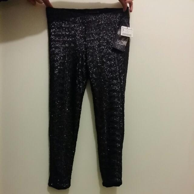 Zara TRF Collection Sequins Pants