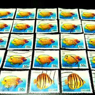 Singapore Stamps 2001