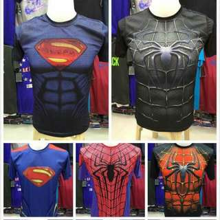 3D Hero short and Long Sleeve