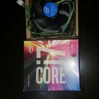 CPU Intel Heatsink Fan Extra Replacement