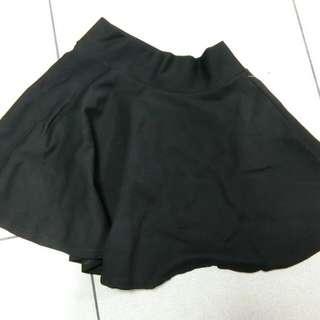 短版黑裙👯
