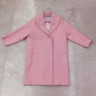 $7800 Italy EQ:IQ Oversize Wool Baby Pink Winter Coat Jacket Christmas Sales 冬天 大褸 外套 Gift Present 禮物 #marchsale