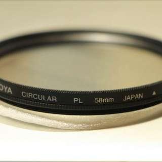 Hoya 58mm 偏光鏡