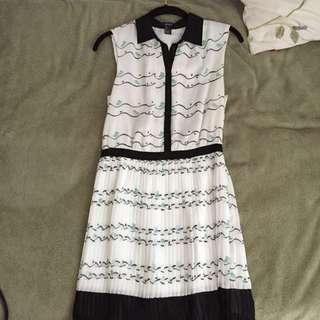 Bird Patterned Dress