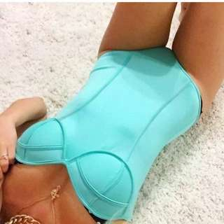 Aqua Body Suit/ Full Piece Togs