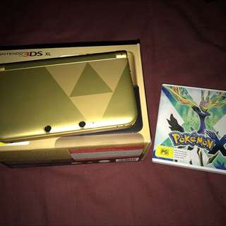 *LIMITED EDITION* Nintendo 3DS XL with Pokemon X