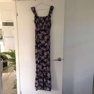 Auguste Lady Maxi Dress - Boho Blooms