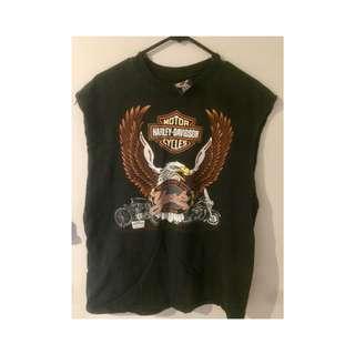 Harley Davidson Top Vintage