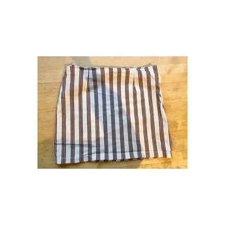 General Pants Striped Skirt