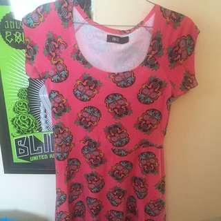Iron Fist Skater Dress XXL