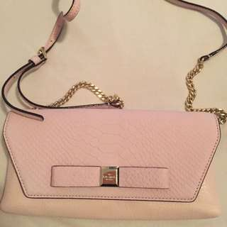 Light Pink Kate Spade Cross Body Bag