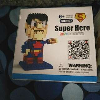 Superman Micro Blocks