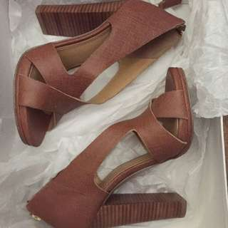 Brown Nine West Shoes