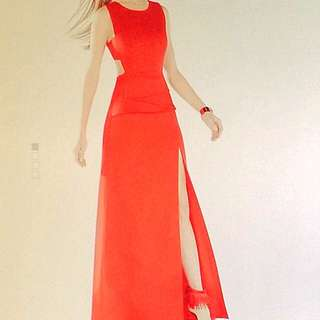BCBG gown (REDUCED***)