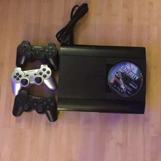 PS3 + 3 Controllers + 17 Games
