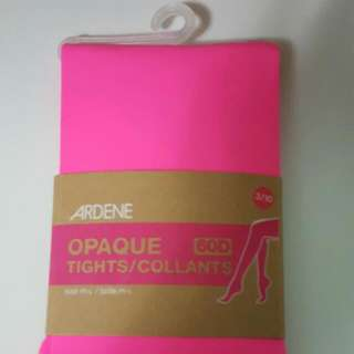Opaque Tights, Neon pink