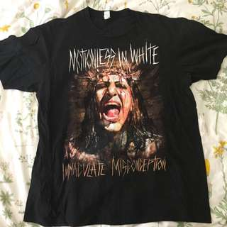🌻 MOTIONLESS IN WHITE MIW BAND TEE 🌻