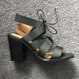 Brand New Lace Up Heel